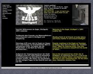 Bild Webseite Eagle Stuttgart