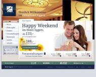 Bild Webseite Eggers Hotel Hamburg
