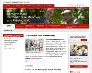 Bild Webseite Caritas Klinik Fasanenhof München