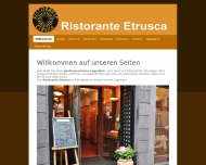 Willkommen - Ristorante Etrusca