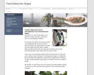 Bild Webseite Fischrestaurant - Hoppe Hamburg