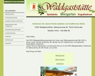 Bild FSSV Waldgaststätte