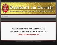 Bild Webseite Haus Cornely Köln