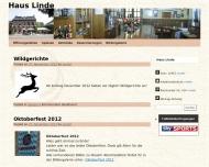 Bild Webseite Haus Linde Aachen