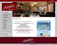 Bild Webseite Adolph's Gasthaus Köln