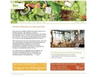 Bild Webseite Iden Vollwertrestaurant Stuttgart