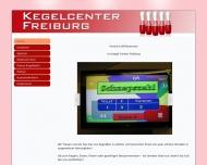 Bild Webseite Kegelcenter Freiburg & Bundeskegelbahnen Freiburg im Breisgau