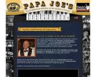 Bild Webseite Klimperkasten Papa Joe's Biersalon Köln