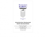 Website Korfu Griechisches Restaurant