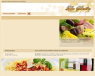 Bild Webseite Lieferservice Pizzeria La Stella Berlin