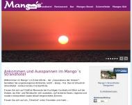 Bild Webseite Restaurant Mango's Kiel