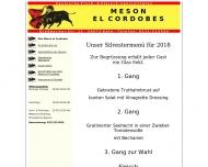 Bild Webseite Meson El Cordobes Spanisches Restaurant Köln