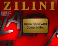 Bild Webseite Musikcafé Zilini Berlin