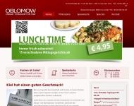 Bild Webseite Oblomow Classic Restaurant Bar Kiel