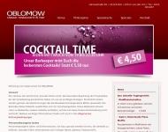 Website Oblomow Classic Restaurant Bar