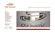 Bild Webseite Olé Madrid München
