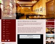 Bild Webseite Paradies Freiburg im Breisgau