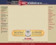 Bild Webseite Restaurant Liberty Pizzeria Berlin