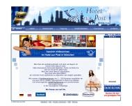 Bild Webseite Hotel Gasthof zur Post -Fritz und Andreas Schön München