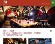 Bild Webseite Jazz in Town Veranstaltungs Berlin