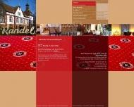 Bild Webseite Randel Wilhelm Restaurant Konditorei Hamburg
