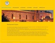Bild Webseite Restaurant Ksara München