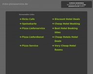 ricks-pizzaservice.de - - Informationen zum Thema ricks-pizzaservice