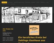 Bild Sahlings Gasthaus Griechische Spezialitäten