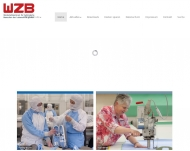 Bild Webseite WZB Werkstattzentrum für behinderte Menschen der Lebenshilfe g Spiesen-Elversberg