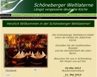 Website Schöneberger Weltlaterne