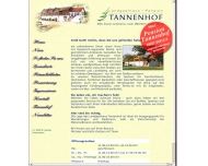 Website Tannenhof
