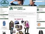 Website Edgar Prignitz fashion Mode