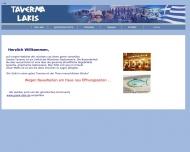Bild Webseite Taverna Lakis München