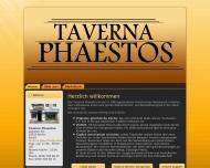 Bild Webseite Taverna Phaestos Berlin