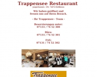 Website Restaurant Trappensee