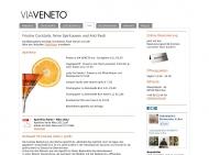 Website Via Veneto Bar Restaurant