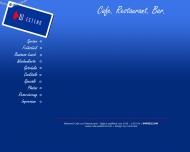 Bild Webseite CAFE WESTEND Gaststättenbetriebs München