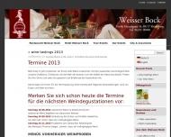 Bild Hotel Restaurant Bar Weißer Bock