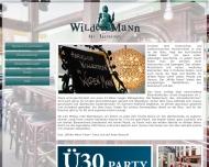 Bild Wilder Mann Cocktail-Bar Restaurant