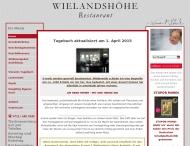 Bild Webseite Wielandshöhe Stuttgart