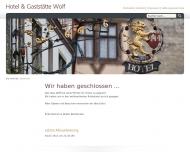 Bild Webseite Wolf Dortmund