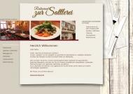 Bild Webseite Sattlerei Stuttgart