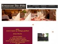 Bild Webseite Alte Gilde Bremen