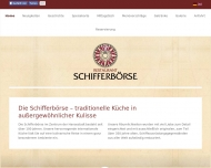 Bild Webseite Schifferbörse Hamburg