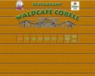 Bild Webseite Restaurant Waldcafe - Corell Hamburg