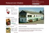 Bild Webseite Gasthaus zum Ortkathen Hamburg