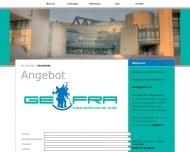 Website gefra Gebäudereinigung
