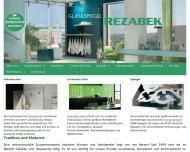 Bild Webseite Glas und Spiegel Rezabek Duisburg