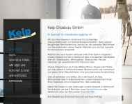 Website Keip Glasbau