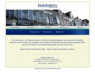 Bild Webseite Edzard, Franke & Co. Bremen